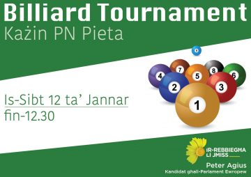 Billiard Tournament Każin PN Pieta
